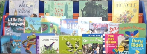 The field trip prize includes a small collection of fiction and nonfiction road safety themed books for the school library kindly provided by NZTA.